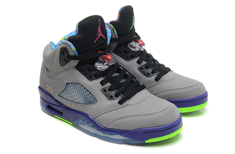 Air Jordan 5 Retro Bel Air Cool Grey Club Pink Court Purple Game Royal
