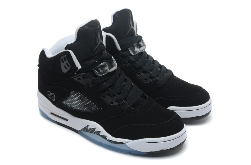 Air Jordan 5 Retro Oreo Black Cool Grey White