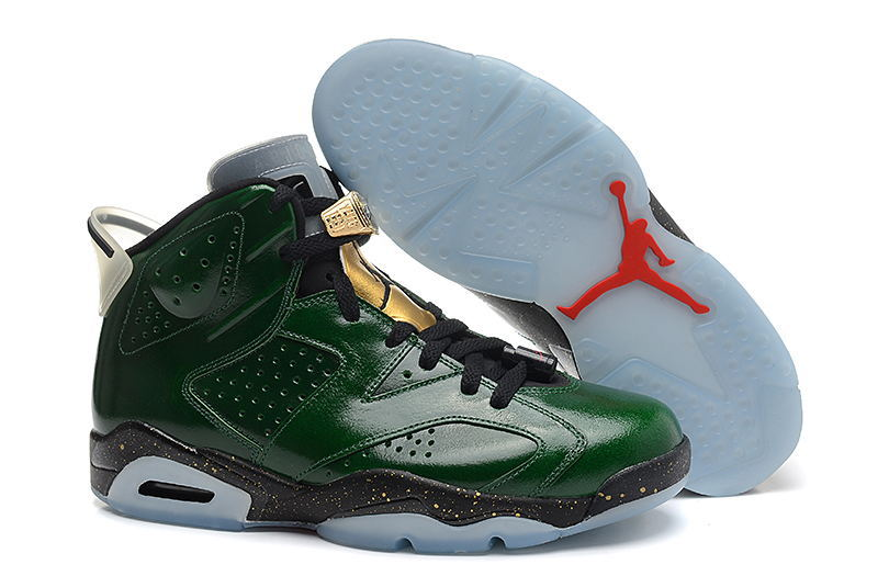 Air Jordan 6 VI Retro Champagne Bottle Pro Green Metallic Gold Chilling Red Black