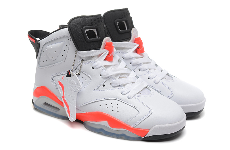 Air Jordan 6 VI Retro Infrared White Infrared Black Cheap