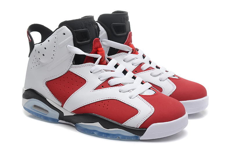 Air Jordan 6 VI Retro White Carmine Black Cheap