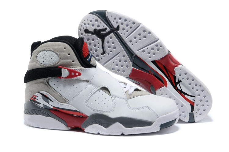 Air Jordan 8 Retro Bugs Bunny White Black True Red