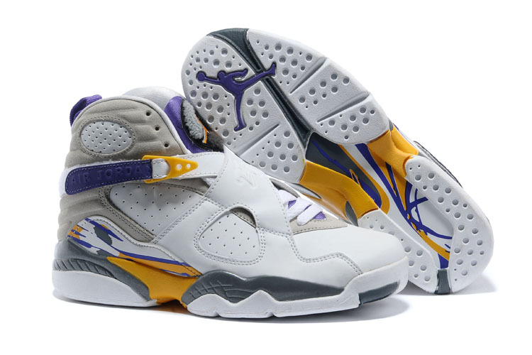 Air Jordan 8 Retro Kobe Bryant Lakers Home PE