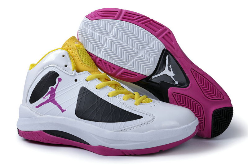 hot sale online 7ccc6 adcf1 Jordan Aero Flight White Black Pink Yellow For Men