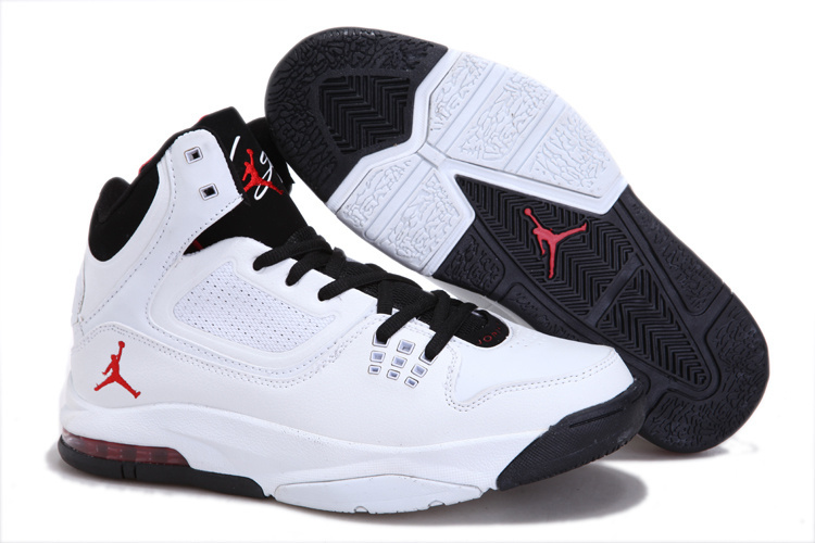 Jordan Flight 23 RST White Black Red Logo