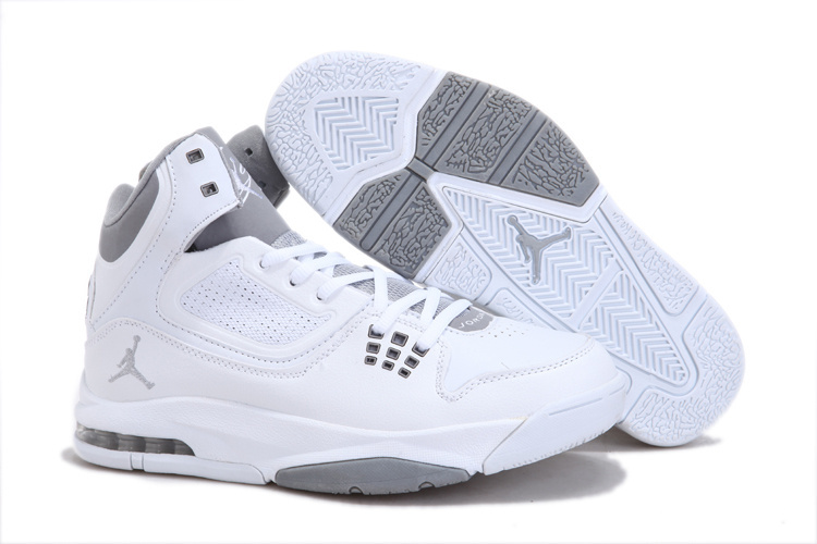 Jordan Flight 23 RST White Grey