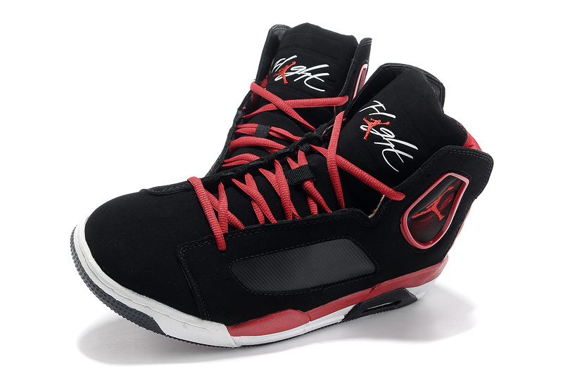 the best attitude 767c9 0855b 2013 Air Jordan Flight Luminary Black Red White Shoes