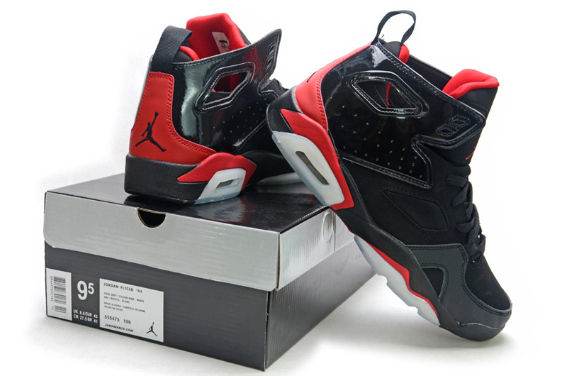 2013 Jordan Fltclb 911 Black Red Shoes