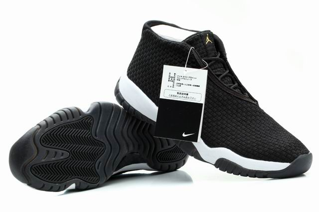 Air Jordan Future Glow Black White