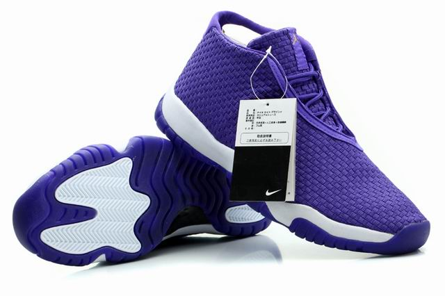 Air Jordan Future Glow Purple White