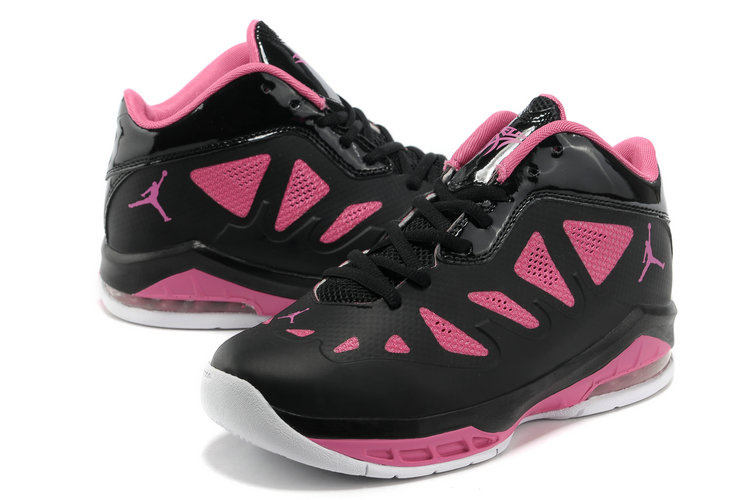 reputable site b615e c876f Authentic Jordan Melo 8 Black Pink White Shoes For Women