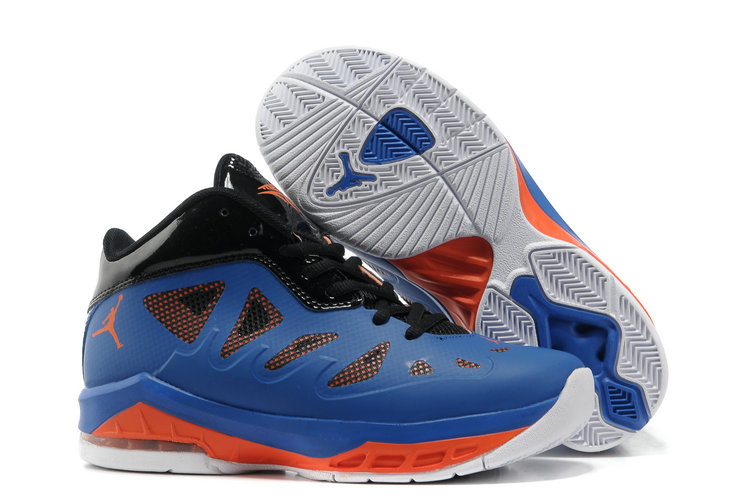 Authentic Jordan Melo 8 Blue Black Orange Whitte Shoes For Women