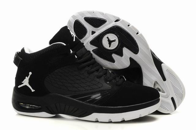 Air Jordan New School Black White Shoes