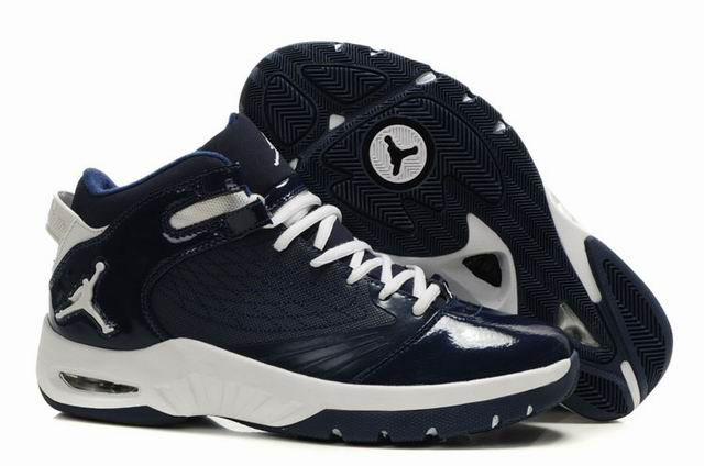 Air Jordan New School Blue White Shoes