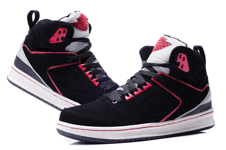 2013 Air Jordan Sixty Club Black Pink White Shoes