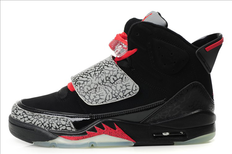 Cheap Jordan Son Of Mars Black Grey Red