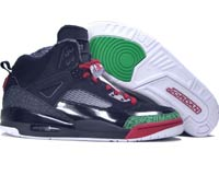 Classic Jordan Spizike Black Varsity Red Classic Green Shoes