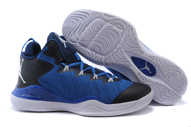 2015 Jordan Super.Fly 3 X Blue Black White