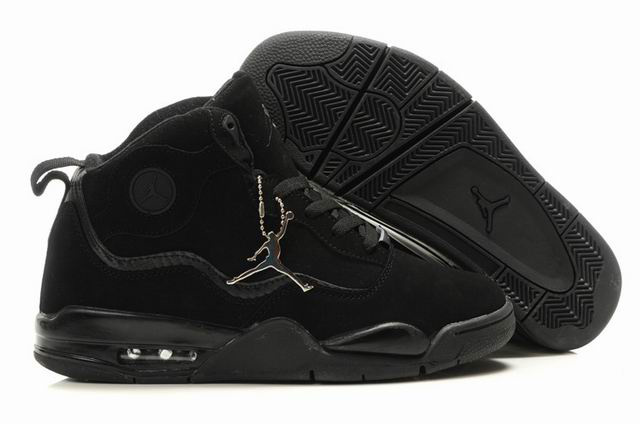 Special Jordan TC8 All Black Shoes
