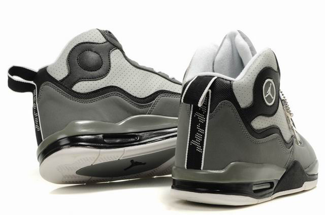 Special Jordan TC8 Grey Black White Shoes