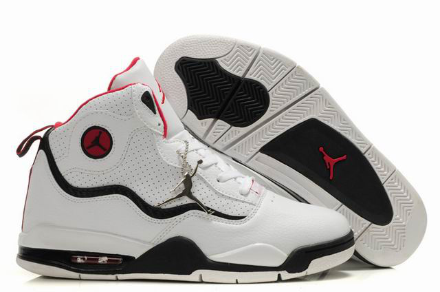 Special Jordan TC8 White Black Red Shoes
