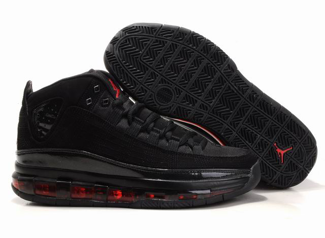 2012 Jordan Take Flight Black Red Shoes