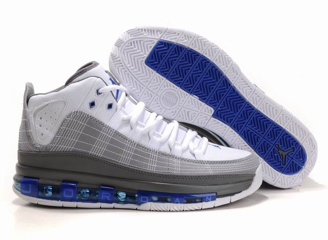 2012 Jordan Take Flight White Grey Blue Shoes