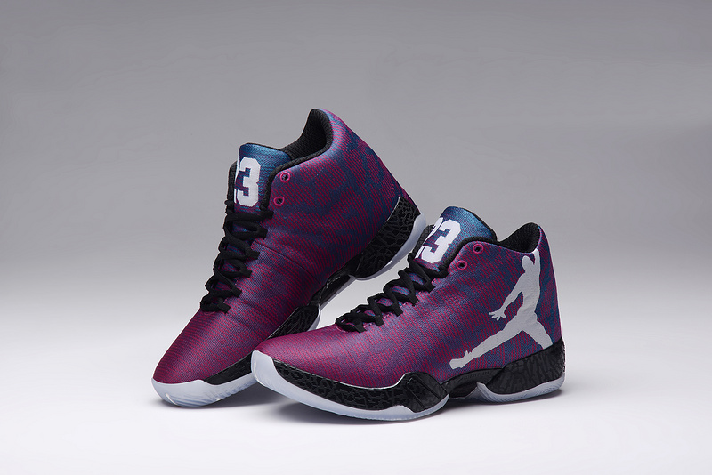 New Air Jordan XX9 Purple Black Lovers Shoes
