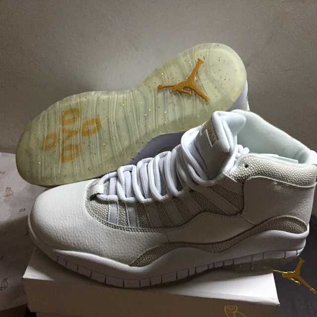 Cheap Air Jordan 10 X Retro OVO White 2015