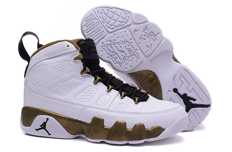 9b1207a41fb7 Cheap Air Jordan 9 Copper Statue White Black Militia Green 2015
