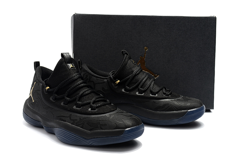 Jordan Griffin 2018 Low All Black Shoes