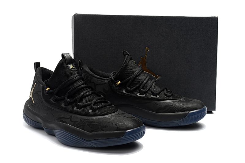 the latest 13710 4718d Jordan Griffin 2018 Low All Black Shoes