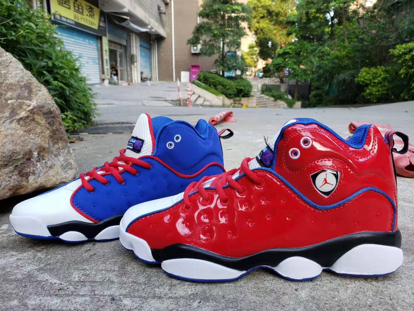 2019 Air Jordan Jumpman Team II Red Blue White