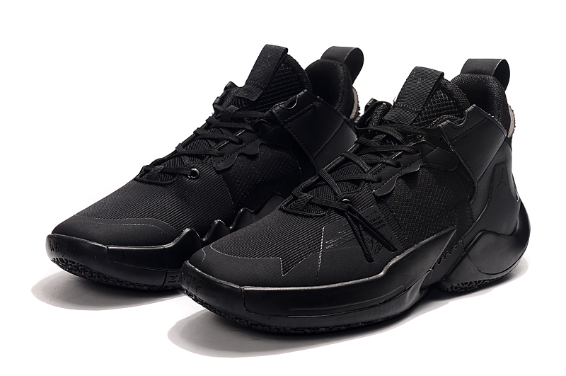 2019 Jordan Why Not Zer0.2 Low All Black