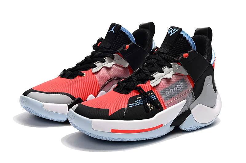 2019 Jordan Why Not Zer0.2 Low Black Red Grey White