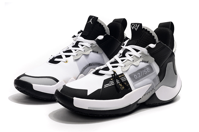2019 Jordan Why Not Zer0.2 Low Black White Grey