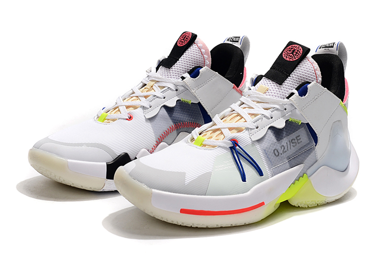 2019 Jordan Why Not Zer0.2 Low White Yellow Black