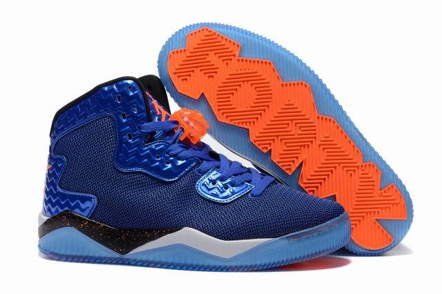 Jordan Air Spike 40 Forty PE Game Royal Game Royal Total Orange White Black