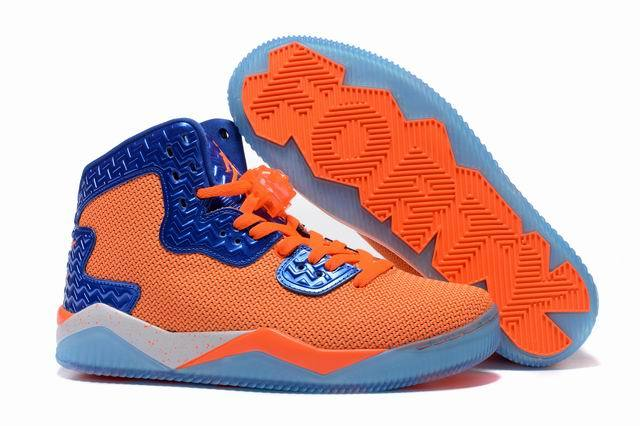 Jordan Air Spike 40 Forty PE Total Orange Total Orange Game Royal White