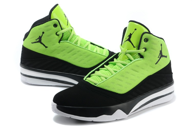 Jordan B`MO Green Black White Shoes