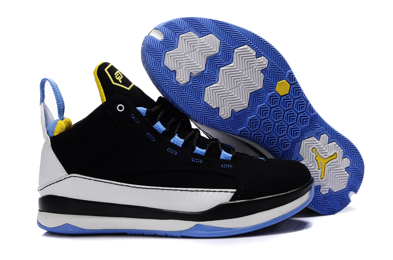 Cheap Jordan CP3 III Black White Blue For Women