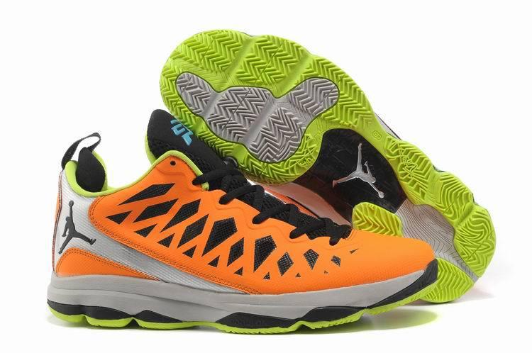 best sneakers 8dd89 bf7d3 2013 Jordan CP3 VI Silver Orange Black Grey Basketball Shoes