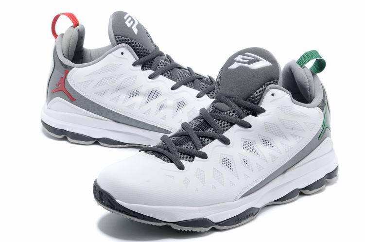 cheap for discount 4d15d 6d15d 2013 Jordan CP3 VI White Grey Basketball Shoes