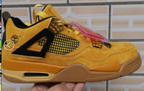 Air Jordan Shoes 4 Wheat Gloden For Cheap