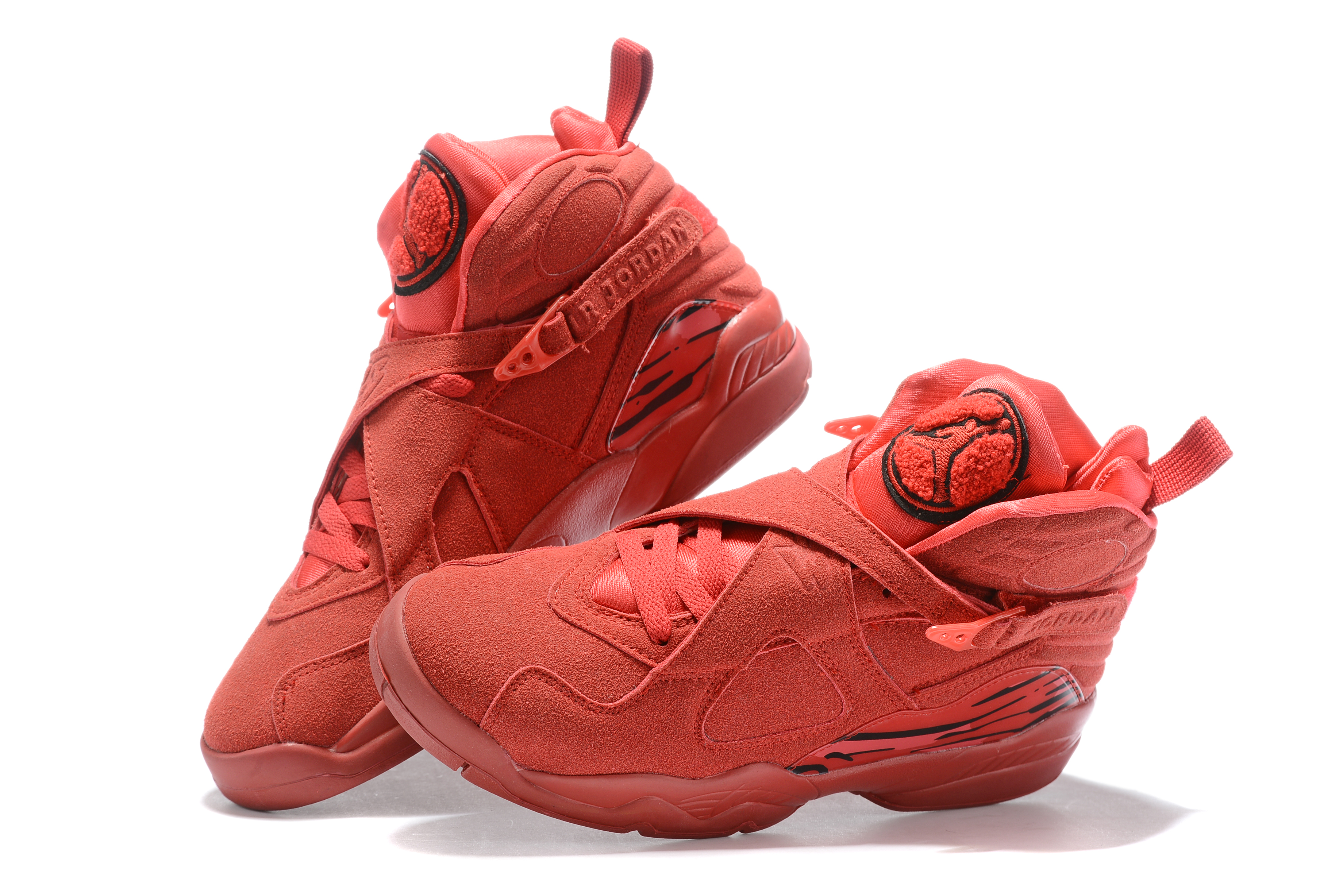 2019 Air Jordan Shoes 8 All Red