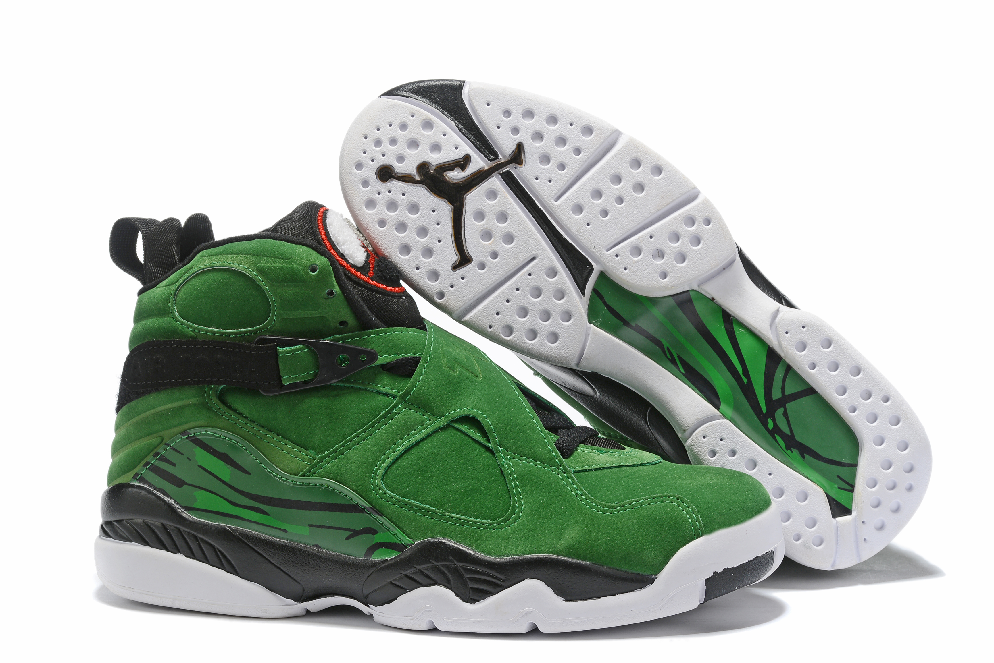2019 Air Jordan Shoes 8 Green Black