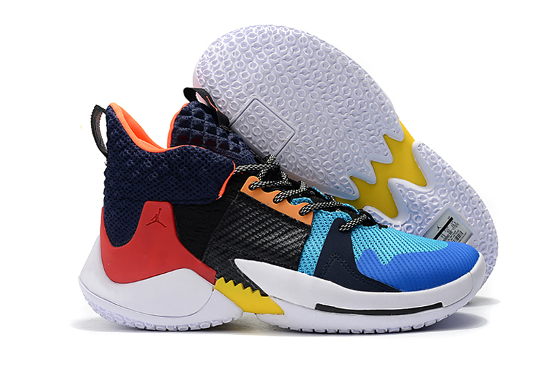 Jordan Why Not Zer0.2 Westbrook 2 Black Dark Blue Orange For Cheap