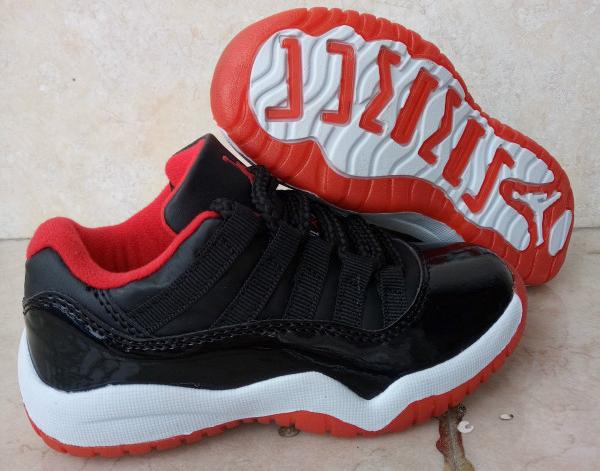 size 40 0503e 851a3 Kids Air Jordan 11 Retro Low Bred 2016