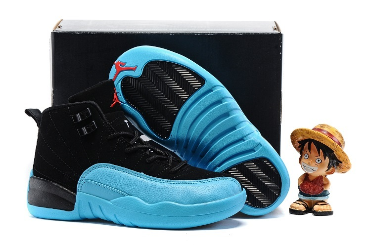 Kids Air Jordan 12 Retro Gamma Blue 2016