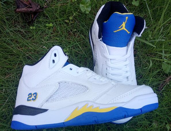 Kids Air Jordan 5 Laney